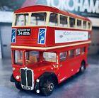 AEC REGENT LONDON TRANSPORT 34 WALTHAMSTOW EFE DIECAST 1/76 MODEL BUS 10124