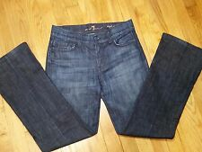 7 For All Mankind High Waist Bootcut Jeans Size 26 Most Excellent
