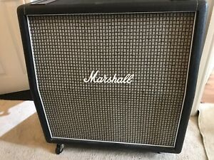 Marshall 1960AX 4x12 Cab Great Condition , Awesome Vintage Roar