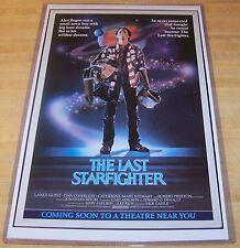 The Last Starfighter 11X17 Movie Poster Nick Castle Version 2