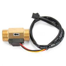 """G1/2"""" DN15 Copper Hall Effect Liquid Water Flow Sensor Switch Flowmeter Meter"""