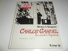 EO CARLOS GARDEL TOME 1/ TBE/ MUNOZ/ SAMPAYO