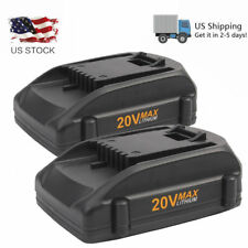 2 x 2.0Ah 20V Lithium-Ion Battery for WORX WA3520 WA3525 WG151 WG155 WG540 WG890
