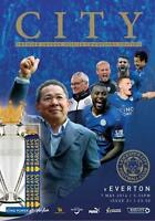 2015/16 - LEICESTER CITY v EVERTON (7th May 2016) CHAMPIONS EDITION PROGRAMME