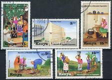 Kenya 1994 SG#616-620 Maendelo Ya Vianawke Used Set #E4512
