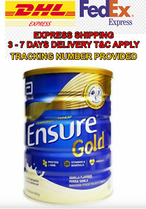 Original Abbott Ensure Gold Complete Nutrition Milk Powder Vanilla EXPEDITED