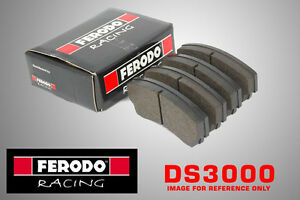 Ferodo DS3000 Racing For Renault Clio II RS 2.0 i Front Brake Pads (00-N/A LUCAS