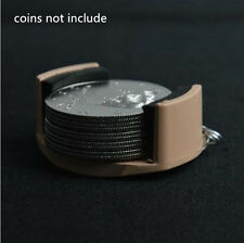 Sale! Coin Dumper/Coin Holder (half dollar size),coin appearing magic accessory