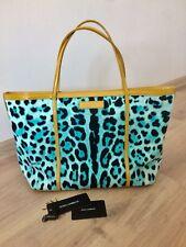 Authentic Dolce&Gabbana Shopping Tote  Bag Leopard Miss Escape