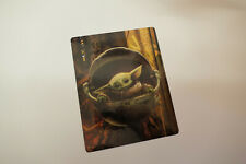 The Mandalorian baby yoda - Glossy Bluray Steelbook Magnet Cover NOT LENTICULAR