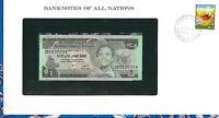 *Banknotes of All Nations Ethiopia 1976 1 Birr P-30b UNC Kidan