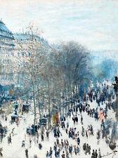 Boulevard des Capucines by Claude Monet 75cm x 56cm Art Print
