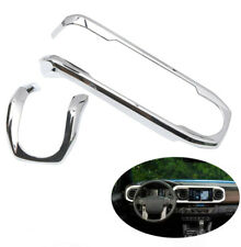Chrome Dashboard Meter Panel Cover Trim 2pcs For Toyota Tacoma 2016-2019