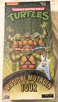 2020 TMNT Musical Mutagen Tour 1990 NECA Donatello Michelangelo Rafael Donatello