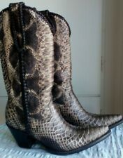 LUXUS OLD GRINGO PYTHON $995$ COWBOYSTIEFEL WESTERN BOOTS GR.39.5,US8.5 UK6.5