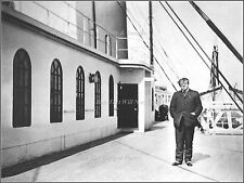 Photo: On Titanic's Boat Deck: Author Jacques Futrelle Poses At Queenstown, 1912