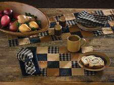 """Table Runner 36"""" L - Prairie Patch by Park Designs - Kitchen Dining Black G"""