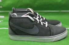 Nike Toki Canvas Black Dark Grey Mens Casual Shoes 446336-090 Size 11.5