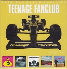 Teenage Fanclub / Bandwagonesque, Thirteen, Grand Prix u.a. (5 CDs,NEU, OVP!)