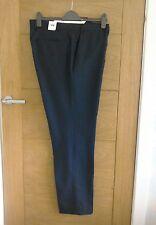 Petrol Blue Boston Mill Twill Trousers By Kin At John Lewis BNWT  30 Short