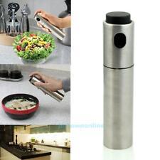 Stainless Steel Oil Sprayer Pot Olive Mister Pump Spray Bottle Cooking Tool