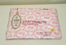 Cameo Rose Twin Fitted Sheet Cannon Royal Family Featherlite No Iron Stay Fresh