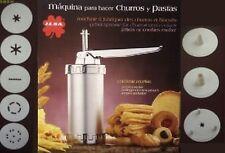 744D863053 Maquina para hacer churros y pastas *** ILSA ***  CHURRERA INOXIDABLE