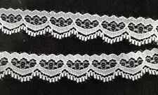 6 Yds White Lace Trim, for Cards, Paper Piecings 1/2""