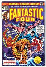 FANTASTIC FOUR #153 Nuclear Man Mahkizmo! Marvel Comic Book ~ FN