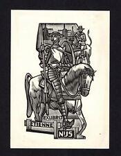 16)Nr.068- EXLIBRIS- Don Quijote - Jan Battermann