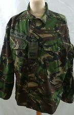 British Royal Navy Jacket, Combat, lightweight  Woodland DP Size 160 / 96