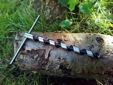 Mini Scotch Eyed T Auger Prepper Bushcraft Survival Trapping Maple Birch tapping
