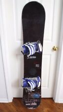 HEAD RUSH SNOWBOARD SIZE 155 CM WITH TACHINE BINDINGS SIZE M/L