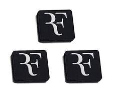 Rf Black Tennis Dampeners 3 Pack