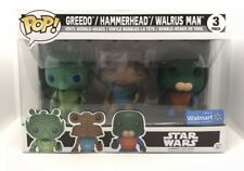 Funko Pop Star Wars Cantina Greedo/ Hammerhead/ Walrus Man 3 Pack