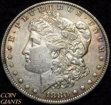 1880-O Morgan Silver Dollar VAM-48 AU/UNC Coin Hangnail New Orleans Top 100 S$1