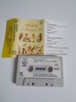 GENESIS A TRICK OF THE TAIL CASSETTE TAPE 1975 WHITE PAPER LABEL CHARISMA UK