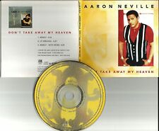 AARON NEVILLE Brothers Don't take Away 3TRX REMIXES PROMO DJ CD single My Heaven