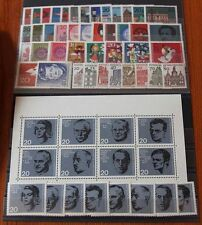Germany Complete Year 1964 Stamp Set + SS Mint Never Hinged MNH German Stamps
