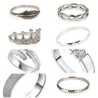 925 Solid Sterling Silver Rings Mixed New Designs INTRO  OFFER £6.99
