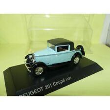 PEUGEOT 201 COUPE 1931 Bleu et Noir NOREV 1:43 blister
