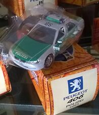 NOREV PEUGEOT 406 POLIZEI 2002 Neuf Ss Coque + Boite Carton