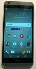 [BROKEN] HTC Desire 530 16GB White (Metro PCS) Fast Ship Good Used Cracked Glass