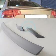 For Audi A4 B7 3-Pcs 06-2008 Rear Wing Trunk Spoiler Polyurethane PU Replacement