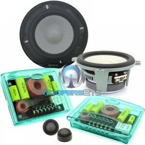 """INFINITY KAPPA PERFECT 5.1 5.25"""" 400W COMPONENT SPEAKERS TWEETERS CROSSOVERS NEW"""