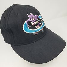 Vintage Greensboro Bats New Era 5950 Fitted Hat 7 3/8 90s Made in USA