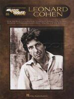 Leonard Cohen E-Z Play Today Sheet Music Book Keyboard Hallelujah Suzanne Anthem