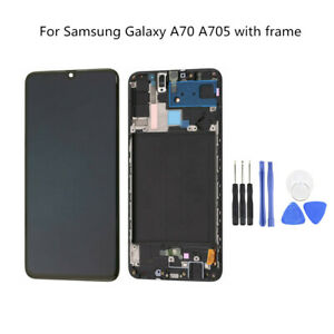 For Samsung Galaxy A70 SM-A705 LCD Display Touch Screen Digitizer Assembly