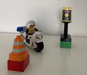 Lego Duplo Polizei Motorrad Mit Ampel 5679 Set