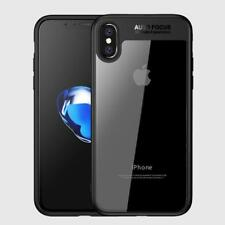 iPhone X Case Hybrid Protective Clear Bumper Scratch Resistant Slim Shock Absorb